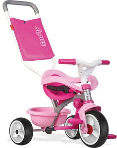 Smoby Be Move Trehjulssykkel Comfort, Rosa