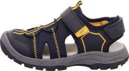 Superfit Tornado Sandal, Blue/Yellow