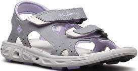Columbia Youth Techsun Sandal, Grey/White Violet