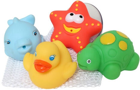 PlayGro Badeleke Bath Squirtees