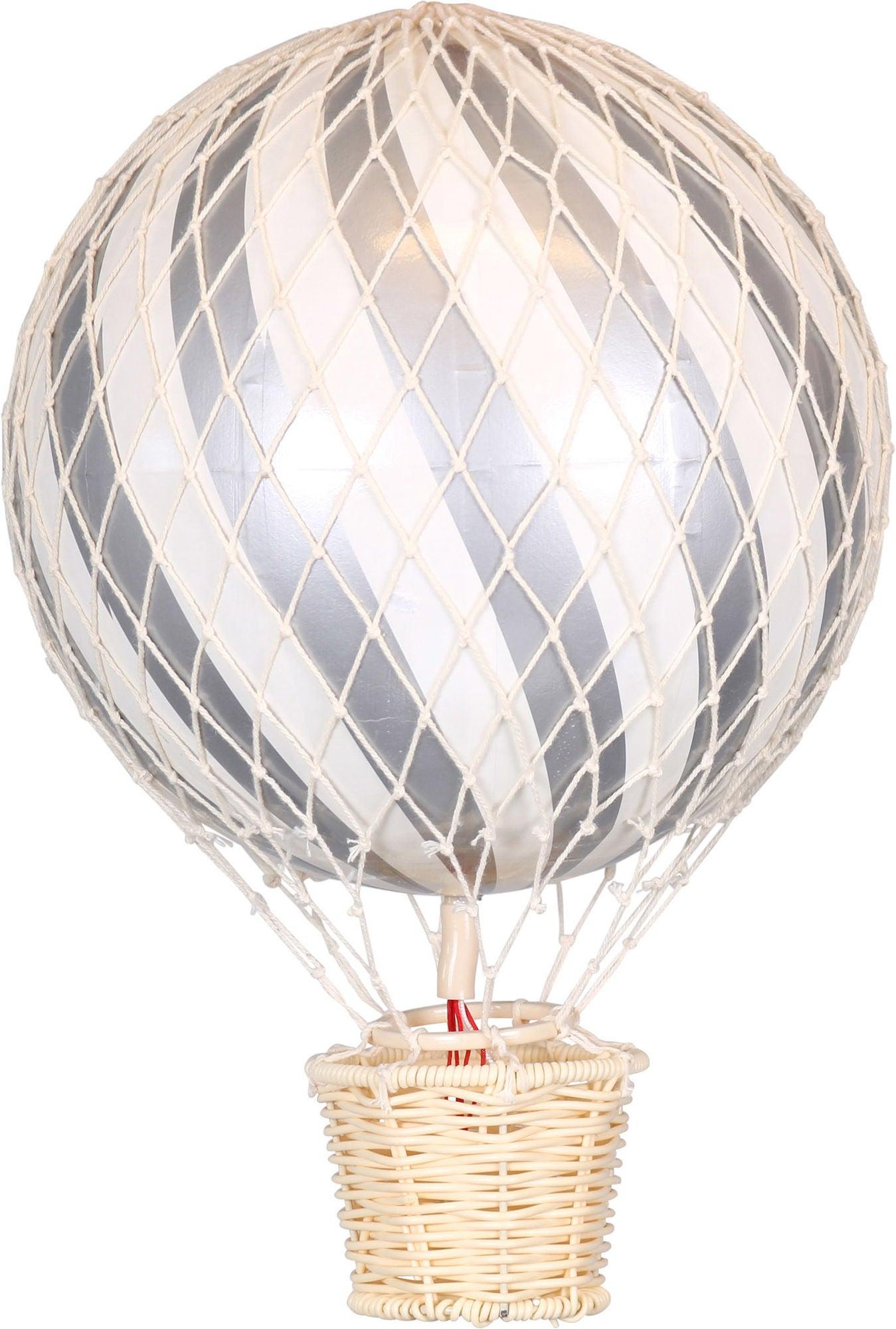 FILIBABBA Luftballong 20cm, Sølv