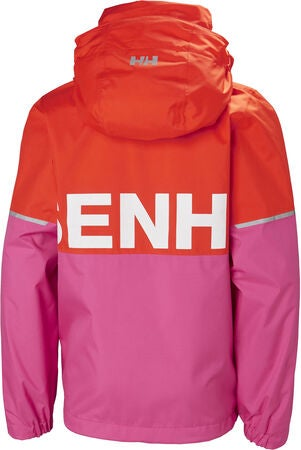 Helly Hansen Block It Regnjakke, Cherry Tomato