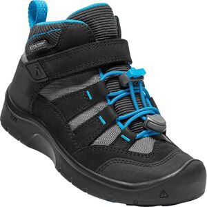 KEEN Hikeport Mid WP Vintersko, Black/Blue Jewel