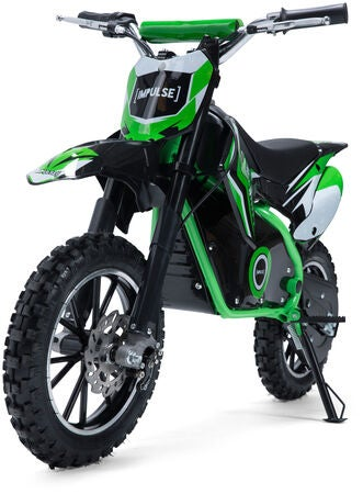 Impulse Electric Dirt Bike 500 W, Grønn