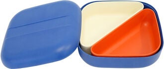 Ekobo Go Square Bento Matboks, Royal Blue