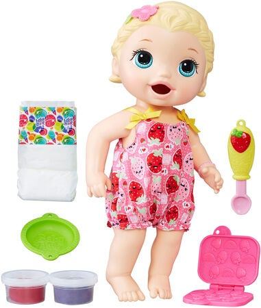 Baby Alive Snackin Lily Blond