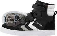 Hummel Stadil Jr Leather High Sneaker, Black/White/Grey