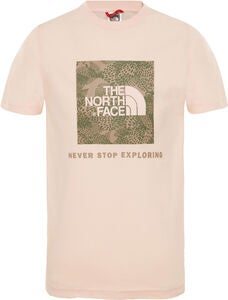 The North Face T-Shirt, Pink Salt