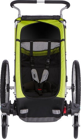 Thule Chariot Cheetah XT 1 Sykkelvogn, Chartreuse/Black