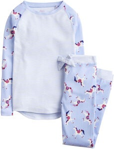 Tom Joule Pyjamas, Sky Blue Dancing Unicorns
