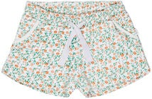 Luca & Lola Duna Shorts, White/Flowers