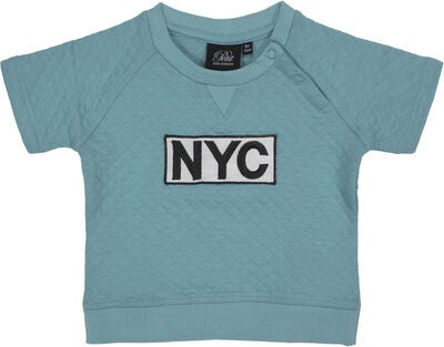 Petit by Sofie Schnoor T-shirt NYC, Aqua Blue