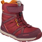 Viking Skomo GTX JR Sko, Dark Red/Wine