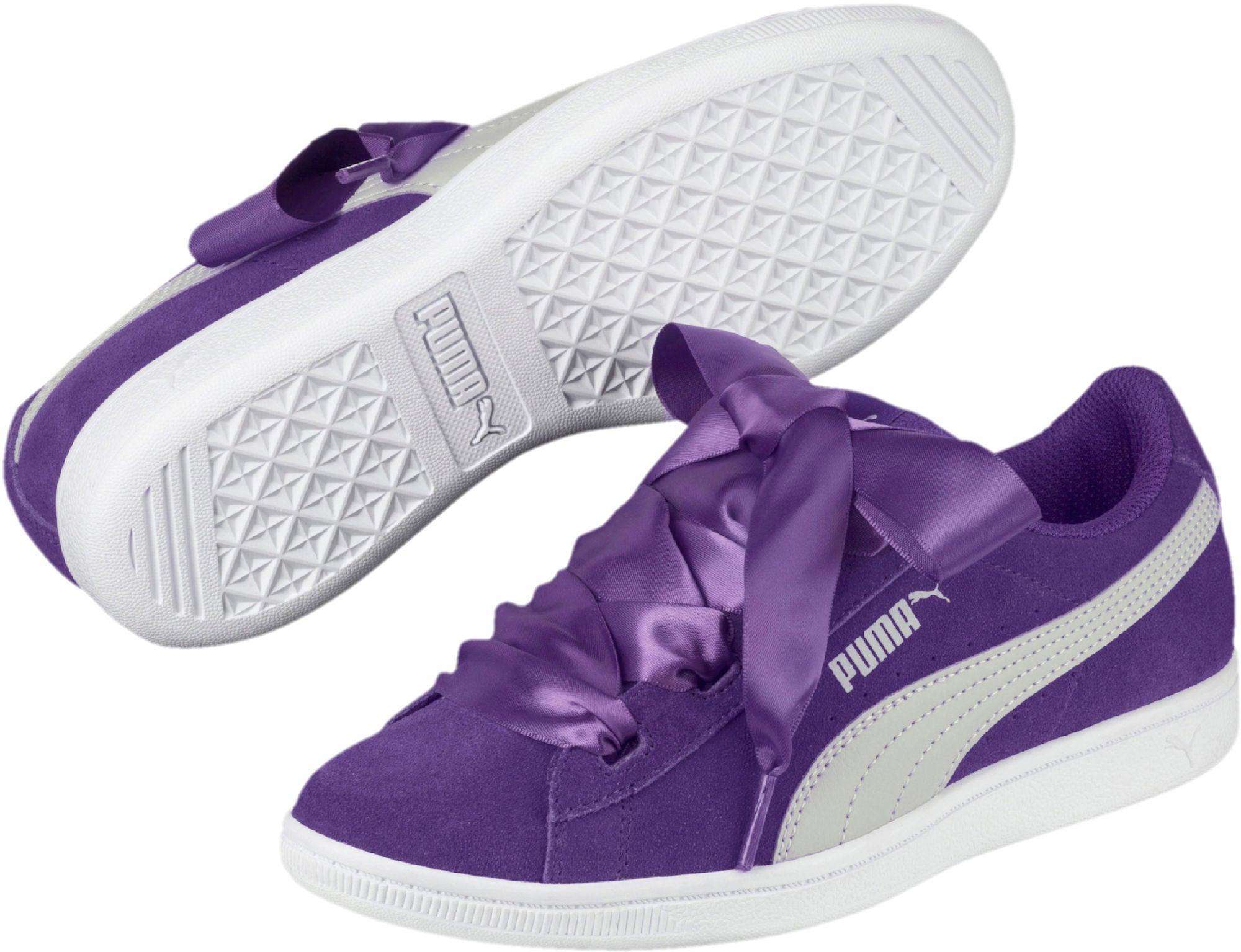 Kjøp Puma Vikky Ribbon Sneaker, Violet   Jollyroom