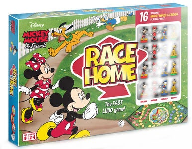 Disney Mikke Mus Spill Mickey & Friends Race Home Ludo