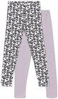 Luca & Lola Venetia Lange Leggings 2-pack, Purple/White