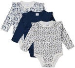 Luca & Lola Carina Body 3-pack, Navy