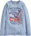 Tom Joule Jack Applique Langermet T-Skjorte, Blue Deep Sea