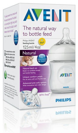 Philips Avent Flaske Natural 125 ml