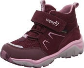 Superfit Sport5 GTX Sneaker, Red/Violett