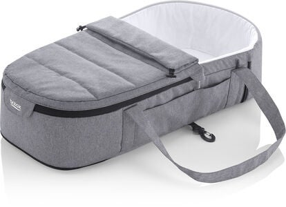 Britax GO BIG Soft Vognbag Carrycot, Grey Melange