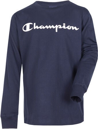 Champion Kids Langermet T-Shirt, Sky Captain