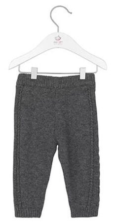 Noa Noa Miniature Leggings Erin, Dark Grey Melange