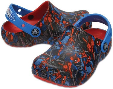 Crocs Fun Lab Spiderman, Flame