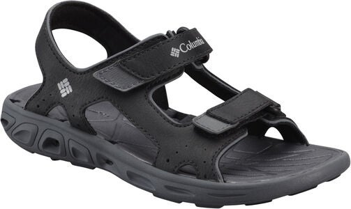 Columbia Youth Techsun Sandal, Black/Grey