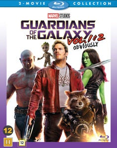 Marvel Guardians Of The Galaxy 1 & 2 Blu-Ray