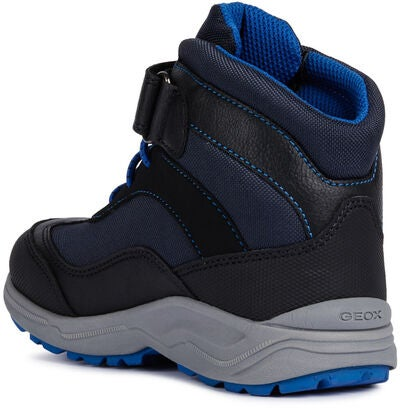 Geox New Alaska WPF Vinterstøvler, Black/Royal