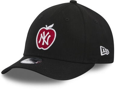 New Era MLB 9Forty Kids Kaps, Black/White Scarlett