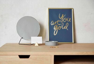 I Love My Type Poster You Are Gold, Grønn