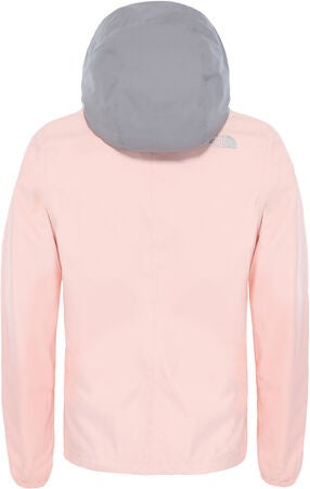 The North Face Resolve Reflective Lettvektsjakke, Pink Salt