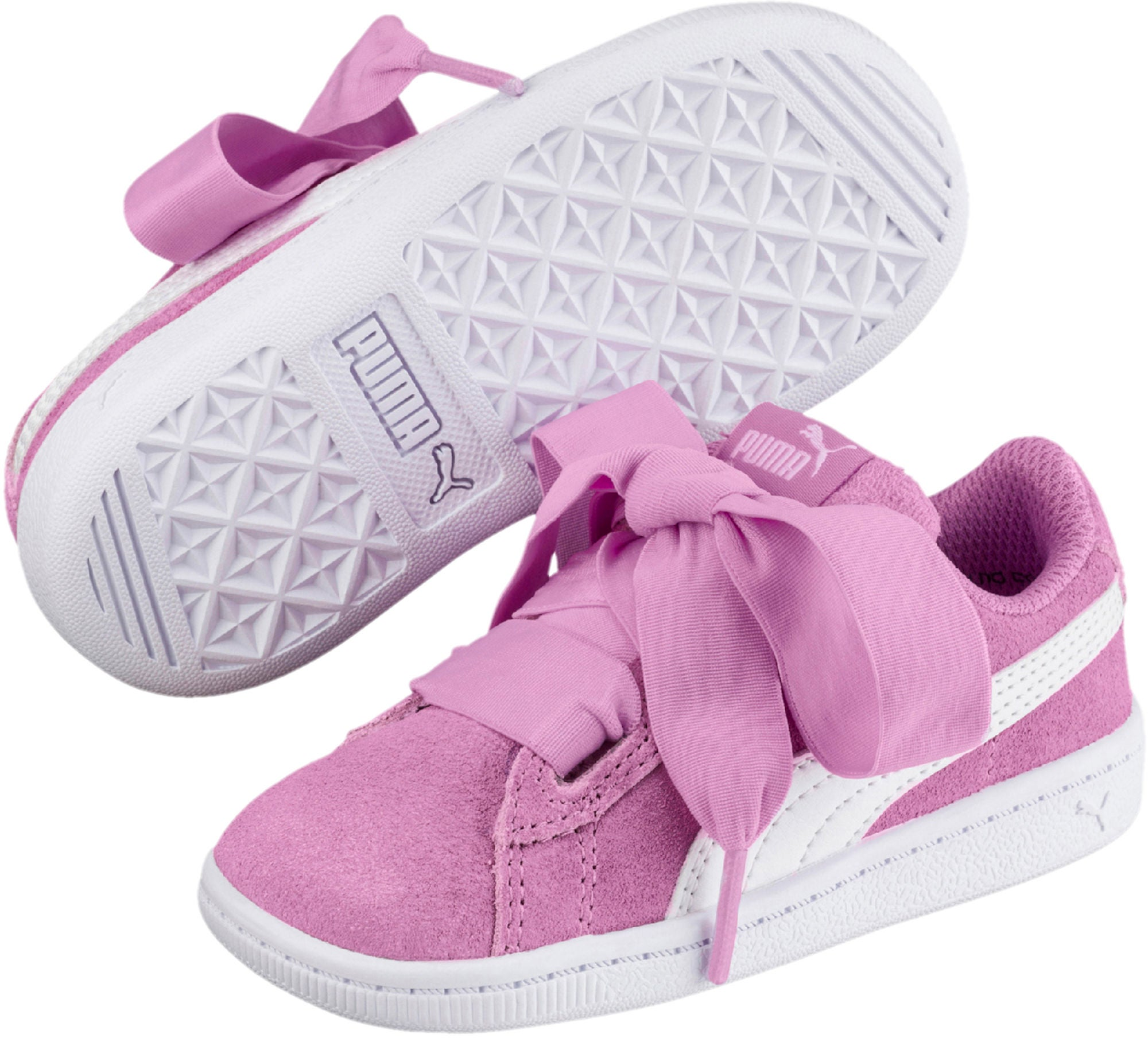 Kjøp Puma Vikky Ribbon Sneaker, Pink   Jollyroom
