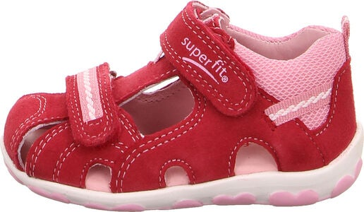 Superfit Fanni Sandal, Red/Pink