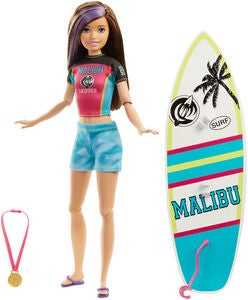 Barbie Dreamhouse Adventures Dukke Skipper Surf