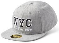 State Of Wow Toronto 2 Youth Snapback Cap, Grey Melange