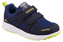 Viking Odda Sneaker, Navy/Lime