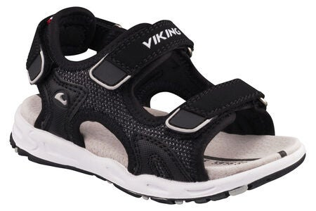 Viking Anchor II Sandal, Black/Grey
