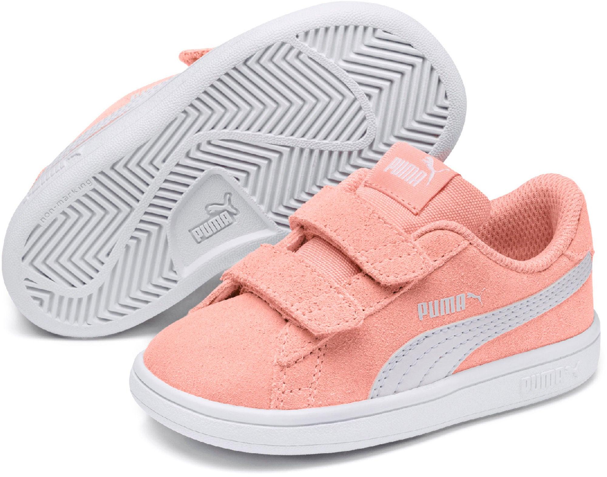 Kjøp Puma Smash V2 SD V PS Sneaker, Pink | Jollyroom