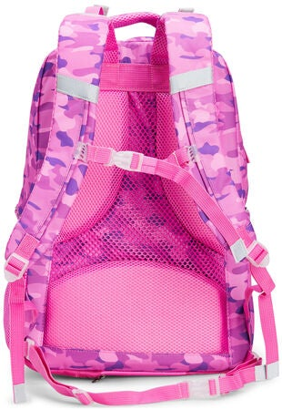 Pure Norway Free Waterproof Ryggsekk, Camouflage Rosa