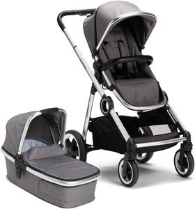 Beemoo Twin Travel+ 2020 Duovogn, Dark Grey