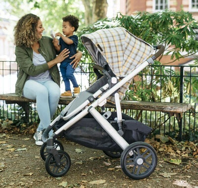 UPPAbaby VISTA Duovogn, Spencer Grey/Yellow