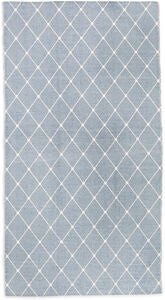 Alice & Fox Gulvteppe Square Dots 150x200, Dusty Blue