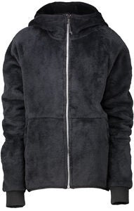 Wearcolour Flow Fleece Hettejakke, Black