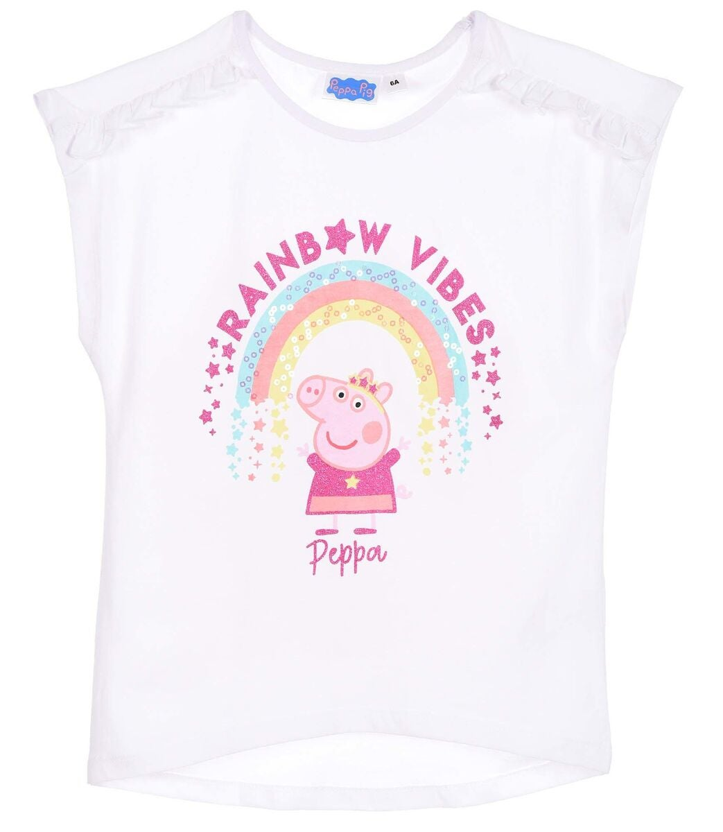 Peppa Gris T-Shirt, White