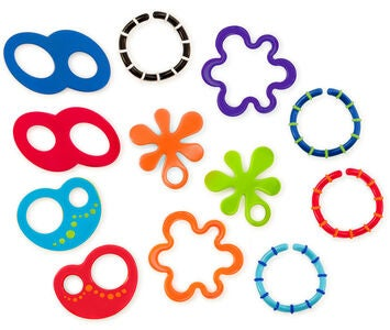 Oball Linky Loops Biteleke 12-pack