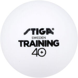 STIGA Bordtennisball Training ABS 6-pack, Hvit