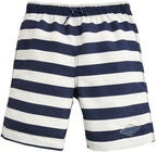 Tom Joules Badebukse, Cream Navy Stripe